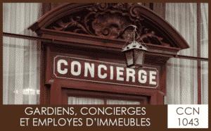 CCN 1043 Gardiens concierges et employés d'immeubles - My Convention Collective CFTC-CSFV