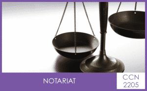 CCN 2205 Notariat - My Convention Collective CFTC-CSFV